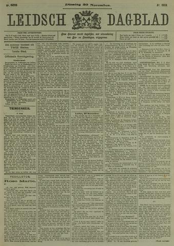 Leidsch Dagblad 1909-11-30