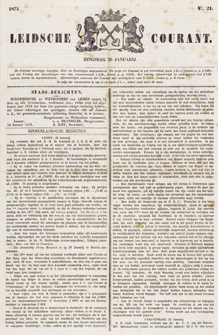 Leydse Courant 1875-01-26