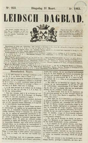 Leidsch Dagblad 1863-03-31