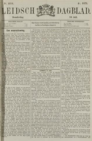 Leidsch Dagblad 1873-07-10