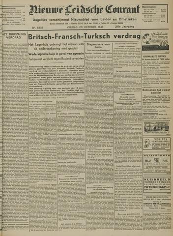 Nieuwe Leidsche Courant 1939-10-20