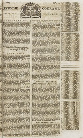 Leydse Courant 1825-05-04