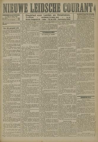 Nieuwe Leidsche Courant 1923-04-14