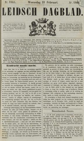Leidsch Dagblad 1866-02-21