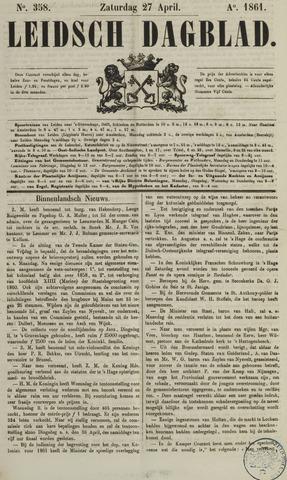 Leidsch Dagblad 1861-04-27
