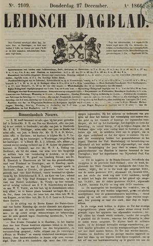 Leidsch Dagblad 1866-12-27