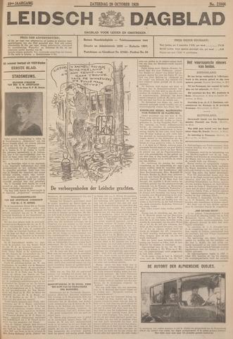 Leidsch Dagblad 1928-10-20