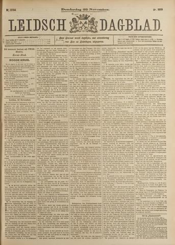 Leidsch Dagblad 1899-11-23