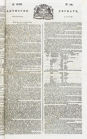 Leydse Courant 1843-07-19