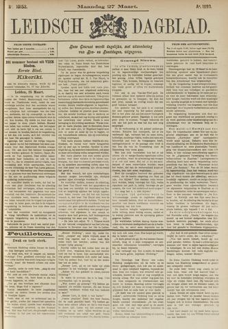 Leidsch Dagblad 1893-03-27