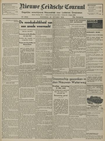 Nieuwe Leidsche Courant 1938-10-26