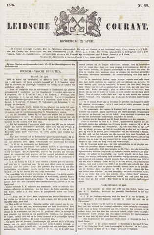 Leydse Courant 1876-04-27