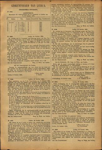 Handelingen van de Raad 1894-10-07
