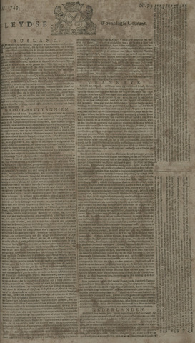 Leydse Courant 1743-07-03