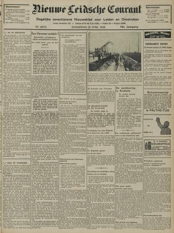 Nieuwe Leidsche Courant 1938-04-21