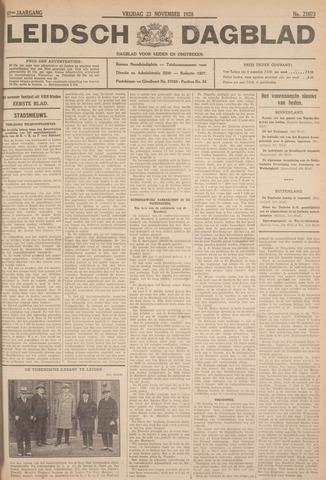 Leidsch Dagblad 1928-11-23