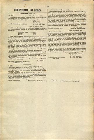 Handelingen van de Raad 1881-12-05