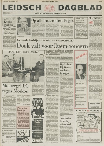 Leidsch Dagblad 1982-01-26