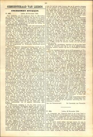 Handelingen van de Raad 1916-11-22