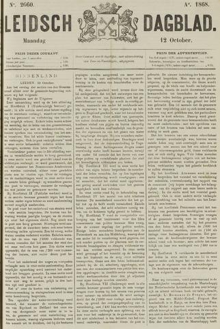 Leidsch Dagblad 1868-10-12