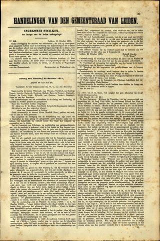 Handelingen van de Raad 1871-10-26
