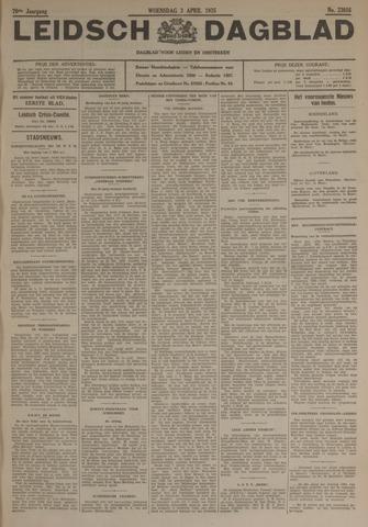 Leidsch Dagblad 1935-04-03