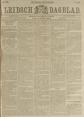 Leidsch Dagblad 1902-02-19