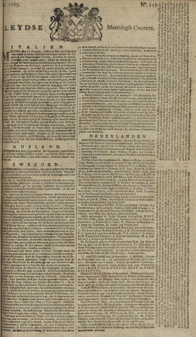 Leydse Courant 1765-09-30