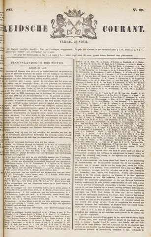 Leydse Courant 1883-04-27