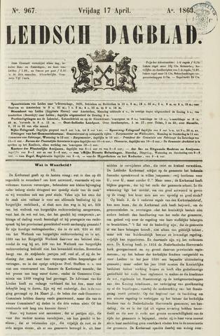 Leidsch Dagblad 1863-04-17