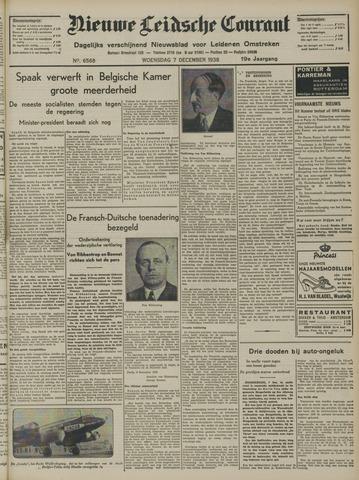Nieuwe Leidsche Courant 1938-12-07