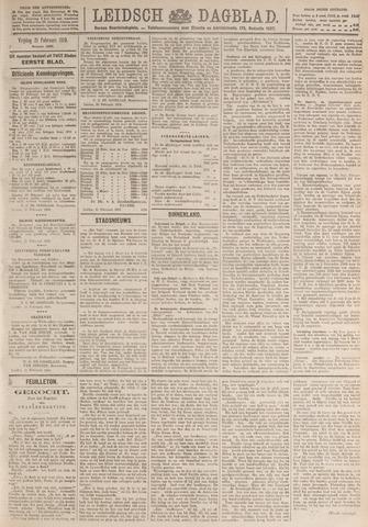 Leidsch Dagblad 1919-02-21