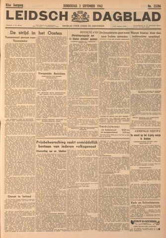 Leidsch Dagblad 1942-09-03