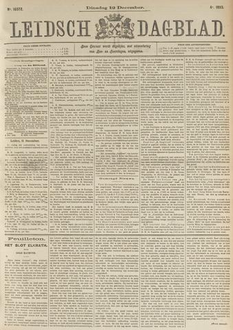 Leidsch Dagblad 1893-12-12