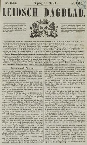 Leidsch Dagblad 1866-03-16