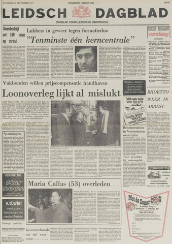 Leidsch Dagblad 1977-09-17