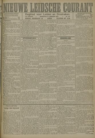 Nieuwe Leidsche Courant 1921-01-17