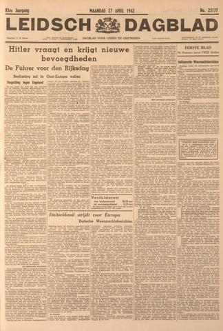 Leidsch Dagblad 1942-04-27