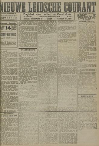 Nieuwe Leidsche Courant 1921-09-09
