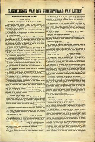 Handelingen van de Raad 1874-06-11