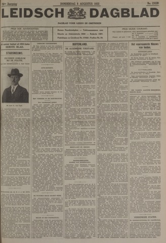 Leidsch Dagblad 1935-08-08