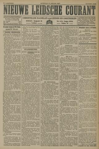Nieuwe Leidsche Courant 1927-01-15