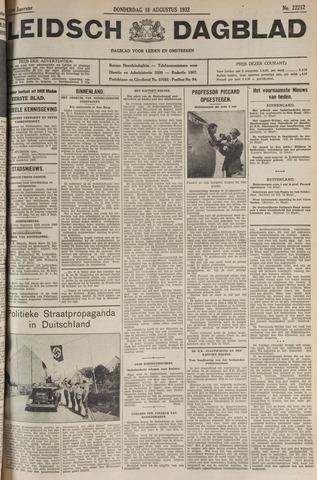 Leidsch Dagblad 1932-08-18