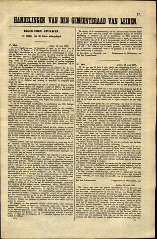 Handelingen van de Raad 1873-06-25