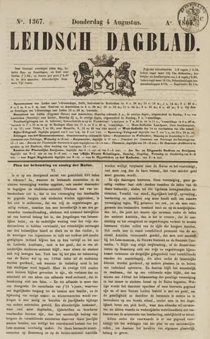 Leidsch Dagblad 1864-08-04