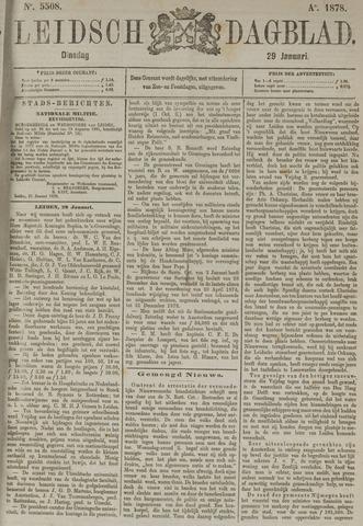 Leidsch Dagblad 1878-01-29