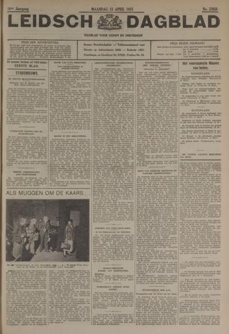 Leidsch Dagblad 1935-04-15
