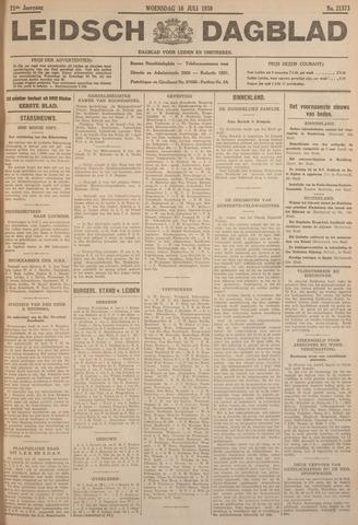 Leidsch Dagblad 1930-07-16