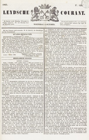 Leydse Courant 1865-10-04