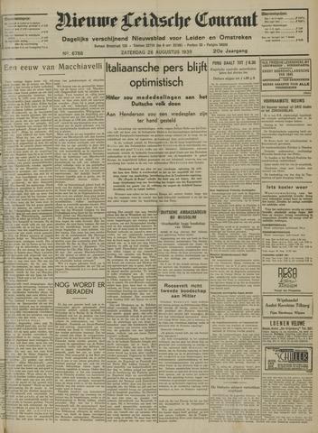 Nieuwe Leidsche Courant 1939-08-26